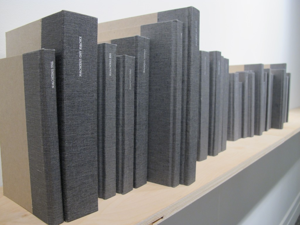 Library of the Unknown and Unknowns, 2011